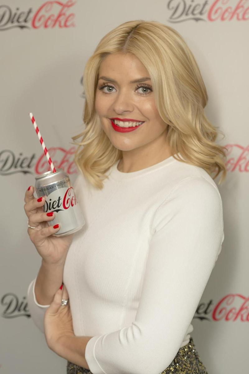 New role: Holly Willoughby is the new Diet Coke ambassador (Diet Coke)