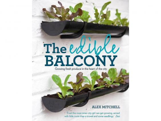 Learn what to grow and how to grow in small, balcony spaces from Mitchell's expertise (Waterstones)