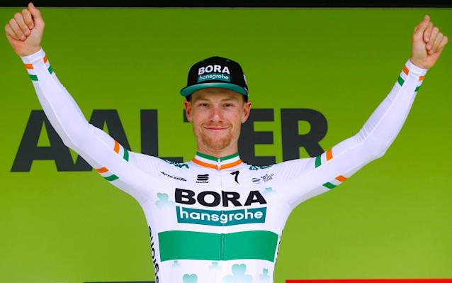 Bennett is the first rider to ever win three consecutive stages at the Binckbank Tour - Velo