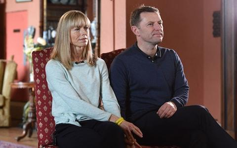Kate and Gerry McCann - Credit: Reuters