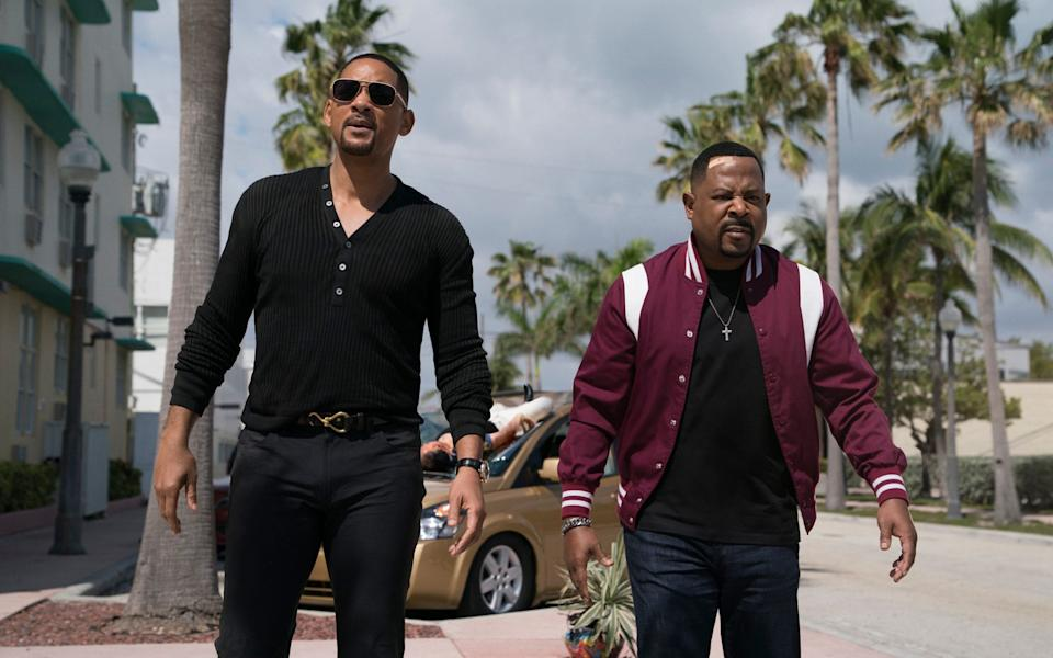 Bad Boys For Life, which came out in January, was the highest-grossing film in the US last year - SONY