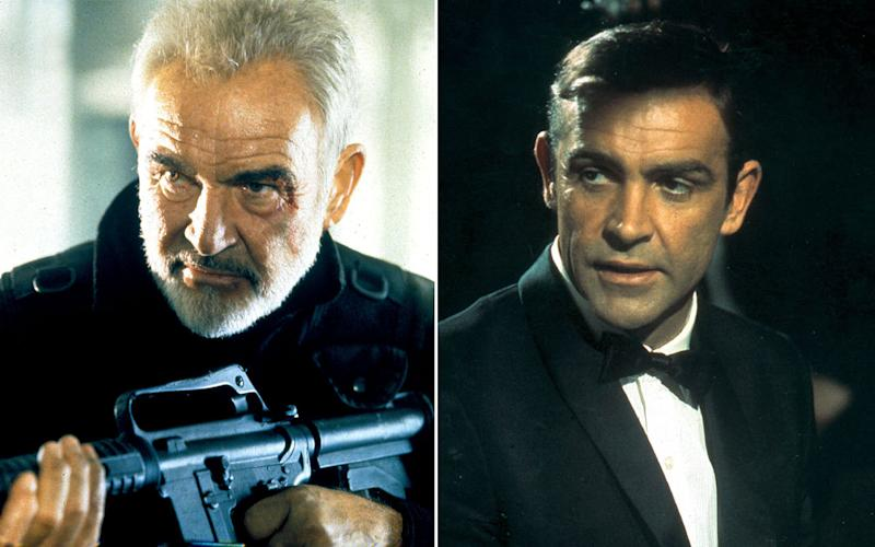 Is Sean Connery Actually Playing James Bond In The Rock