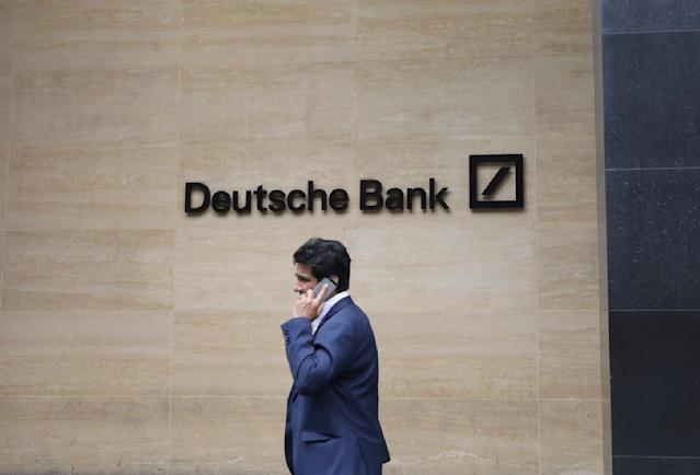 Deutsche Bank chief executive Christian Sewing: Working with Epstein was 'a critical mistake and should never have happened'. Photo: Natasha Livingstone/AP