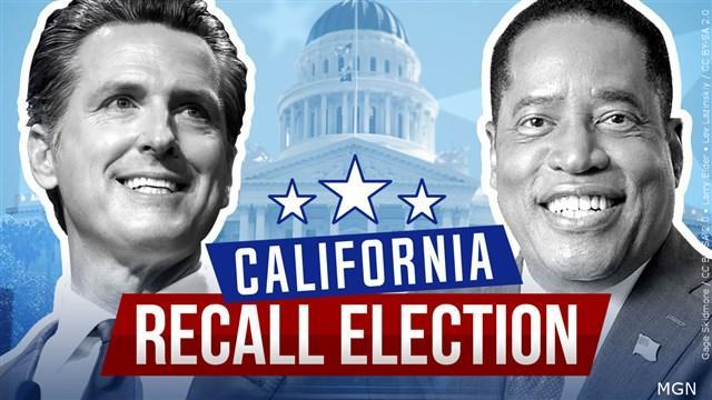 California recall election: Governor Gavin Newson holds his place