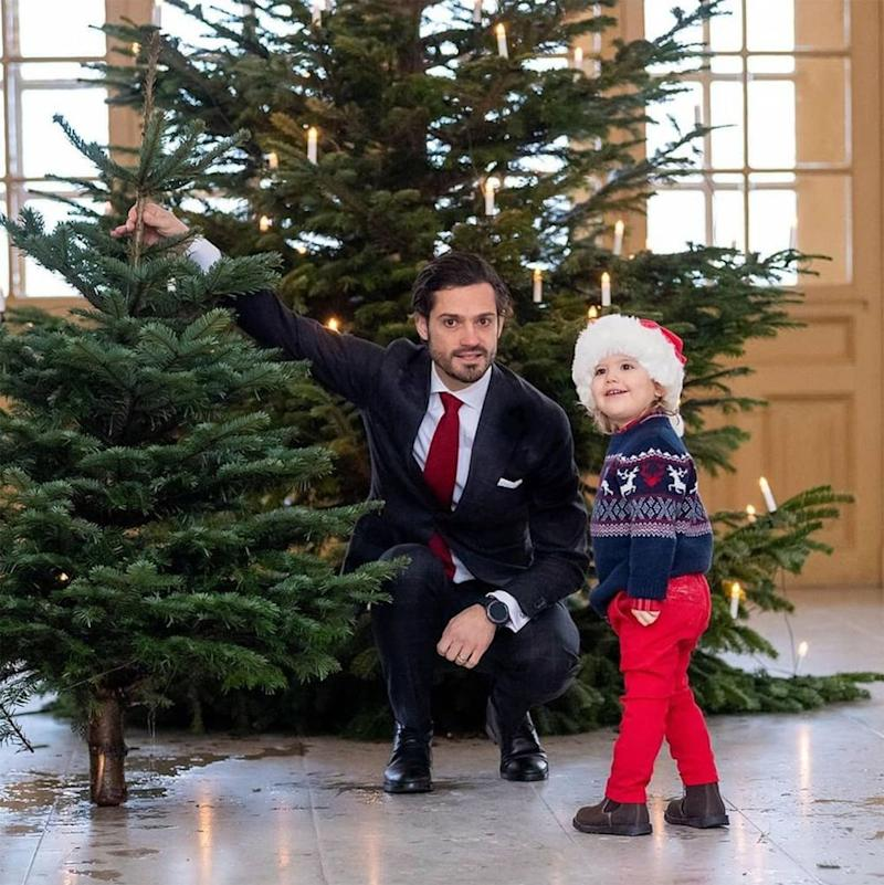 Prince Carl-Philip and Prince Alexander | Prince Carl Philip/Instagram