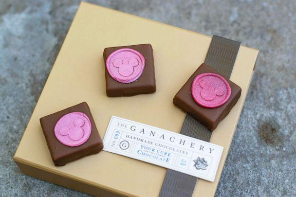 PHOTO: In this undated photo, Imagination Pink Ganache Squares are shown. (Disney Parks)