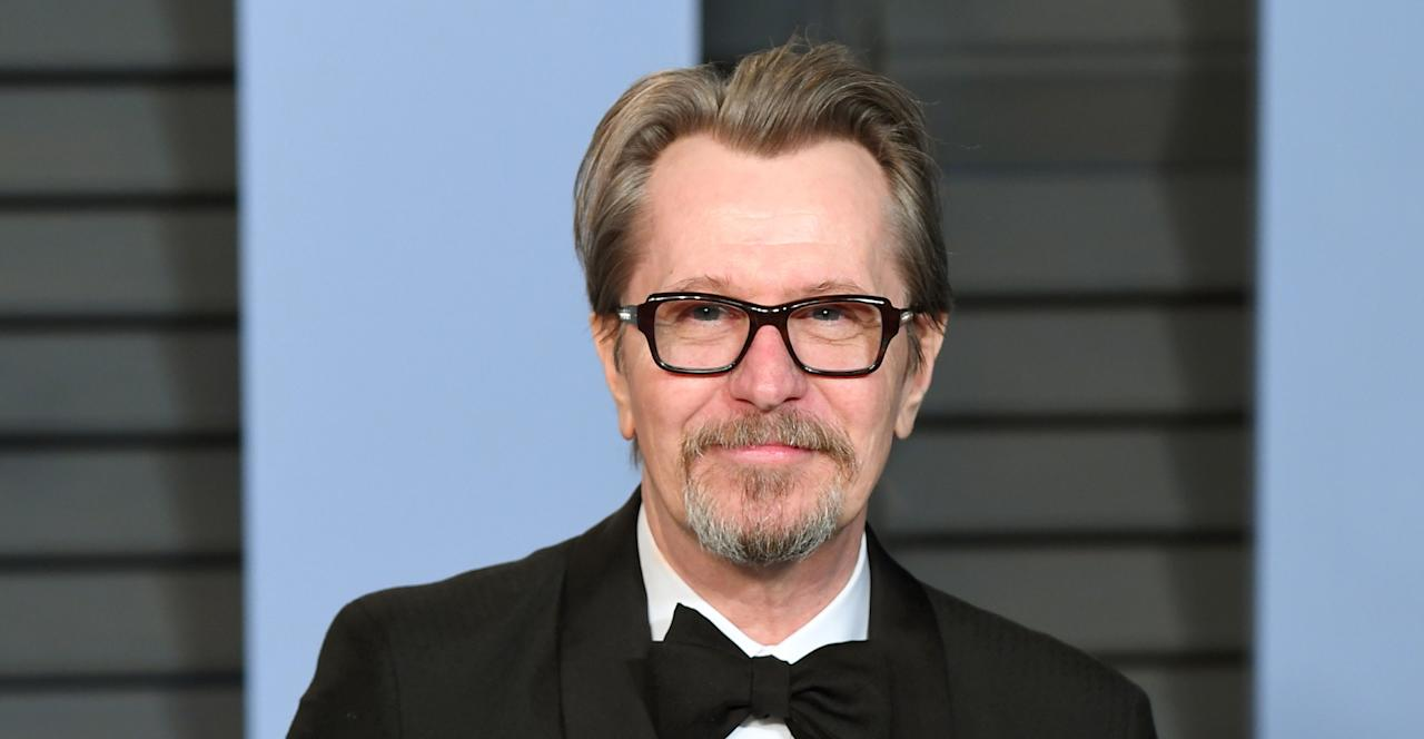 "<p>60-year-old British actor Gary Oldman is experiencing a career renaissance this year thanks to winning the 2018 <a rel=""nofollow"" href=""https://uk.news.yahoo.com/gary-oldman-wins-best-actor-oscar-darkest-hour-042742495--finance.html"">Best Actor Oscar for his powerful portrayal of Sir Winston Churchill in Darkest Hour</a>. </p>"