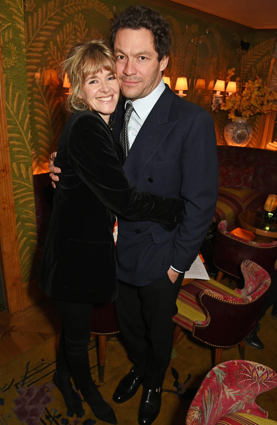 Catherine and Dominic attend the Farms Not Factories #TurnYourNoseUp at Pig Factories benefit dinner 'Upstairs' at 5 Hertford Street on January 31, 2017 in London, England.