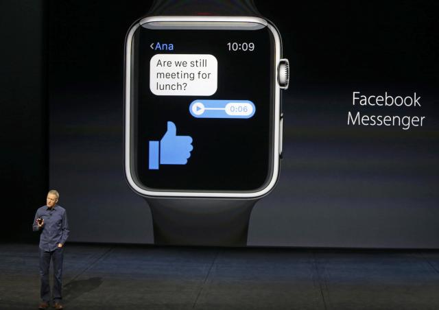 <p>No. 4: Facebook Messenger<br>18 per cent say they can't live without it.<br>(Reuters) </p>
