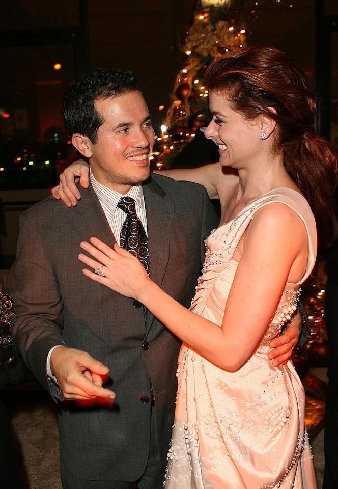 "<a href=""http://movies.yahoo.com/movie/contributor/1800019418"">John Leguizamo</a> and <a href=""http://movies.yahoo.com/movie/contributor/1802866877"">Debra Messing</a> at the Los Angeles premiere of <a href=""http://movies.yahoo.com/movie/1809991685/info"">Nothing Like the Holidays</a> - 12/03/2008"
