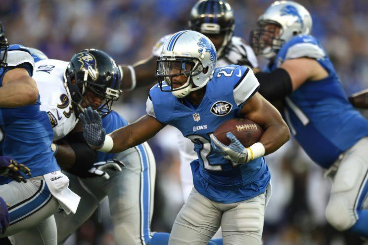 Ameer Abdullah can provide a boost to a bad Lions running game. (AP)