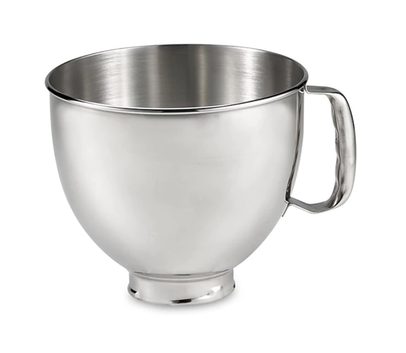 KitchenAid 5 qt. Polished Stainless Steel Bowl with Handle
