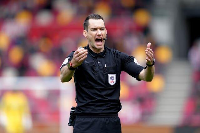 Jarred Gillett is to become the first overseas referee to take charge of a Premier League game