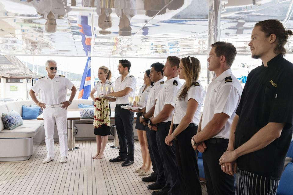 """<p><strong>When was it on? </strong>The show has aired on Bravo for eight seasons starting in 2013. <em>Below Deck: Mediterranean</em> began its run in 2016. </p><p><strong>What's it about? </strong><em>Below Deck, </em>or as I like to call it, <em>Maids on a Boat </em>follows a young yacht crew of a multi million dollar charter boat in the Caribbean as they handle their jobs serving guests and the interpersonal communication issues. Sounds boring? Imagine being young, hot, and trapped at sea. Yep, it gets <em>real</em>. </p><p><strong>What's the best season to watch as a beginner? </strong>Every season has its shining moments, but without question, start at season three, and try not to buy a mermaid suit.</p><p><strong>Where can I watch it?</strong> Every season is available to stream on Peacock for free.</p><p><a class=""""link rapid-noclick-resp"""" href=""""https://go.redirectingat.com?id=74968X1596630&url=https%3A%2F%2Fwww.peacocktv.com%2Fwatch%2Fasset%2Ftv%2Fbelow-deck%2F7650158968969233112&sref=https%3A%2F%2Fwww.redbookmag.com%2Flife%2Fg34945598%2Fbest-reality-shows%2F"""" rel=""""nofollow noopener"""" target=""""_blank"""" data-ylk=""""slk:watch now"""">watch now</a></p>"""