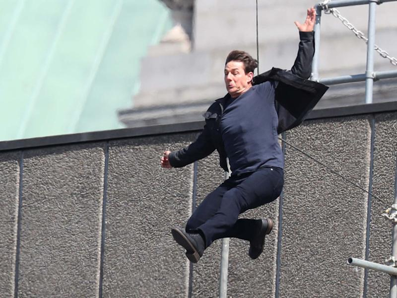 Tom Cruise injury halts Mission: Impossible 6 filming