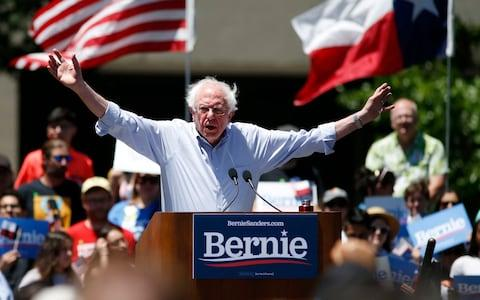 Bernie Sanders ran Hillary Clinton surprisingly close for the 2016 Democratic presidential nomination and is running again in 2020 - Credit: Vernon Bryant/The Dallas Morning News via AP