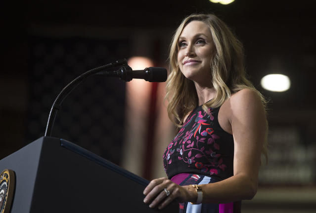 You may be seeing a lot more of President Trump's daughter-in-law Lara Trump. (Photo: Getty Images)