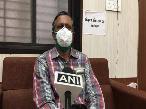 MY Hospital superintendent Dr PS Thakur speaking to ANI on Tuesday.