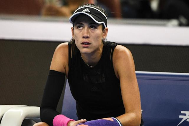 Garbine Muguruza turned 25 Monday but said celebrations had been low key as she battles to rescue a disappointing season by winning the WTA Hong Kong Open (AFP Photo/FRED DUFOUR)
