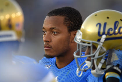Brett Hundley and UCLA blew a chance at the Pac-12 title game with a loss to Stanford on Nov. 28. (AP)
