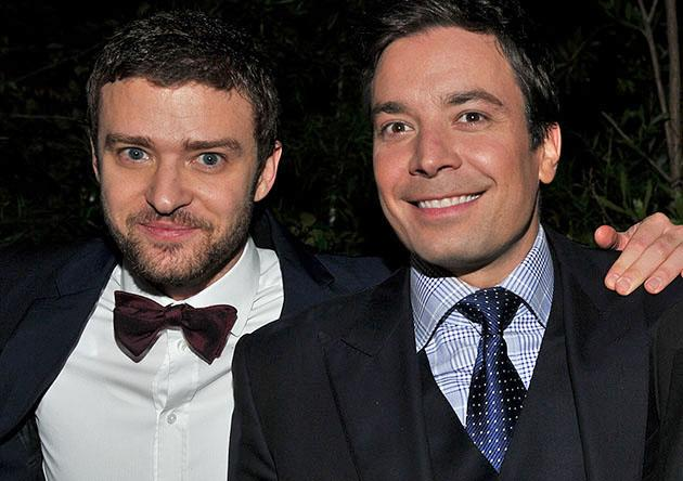 "GQ's 2011 ""Men of the Year"" Party - Inside: Justin Timberlake and Jimmy Fallon"