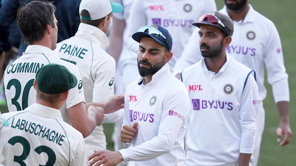 Pictured here, India captain Virat Kohli will be among those players missing in the second Test.