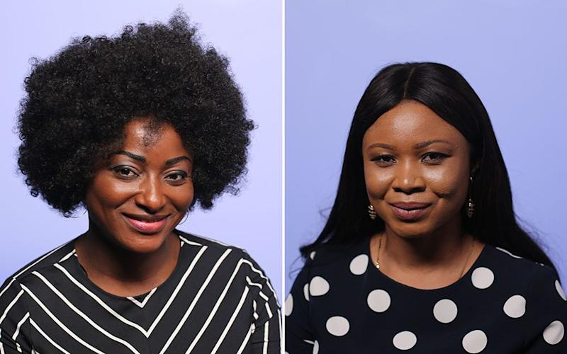 Dr Funmi Adewara (left) and Lolade Oresanwo are among the female entrepreneurs in Africa to watch