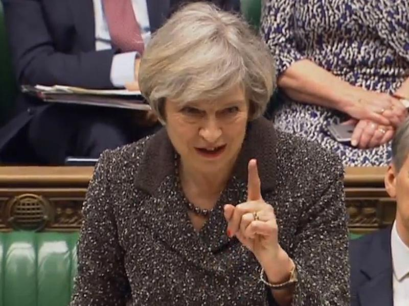 Theresa May can now move forward with Brexit after the Bill passed through the Commons: PA Wire