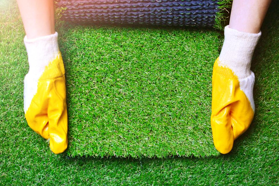 Artificial grass is still considered fair game to be snobby about. (Getty Images)