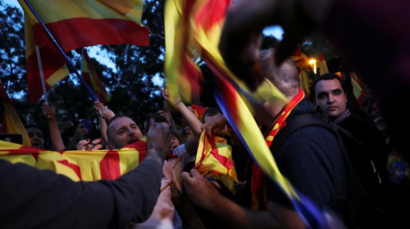 Tension Mounts Ahead Of Catalonia's Controversial Independence Referendum