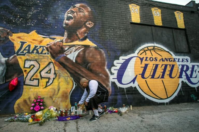 Kobe Byrant's death in a helicopter crash shocked the sporting world
