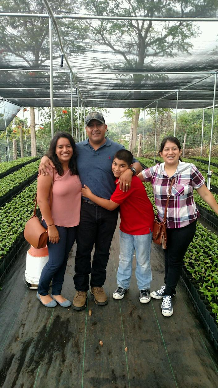 Andres Magaña Ortiz, a respected coffee farmer in Hawaii, is the main provider for his three children — ages 20, 14 and 12 — all of whom are American citizens. (Photo: Andres Magana)