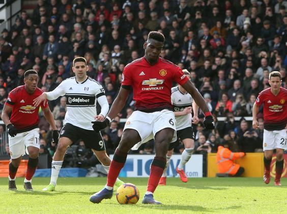 Pogba scored the third from the penalty spot (Man Utd via Getty)