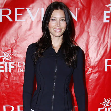 Jessica Biel: Natural make-up takes work