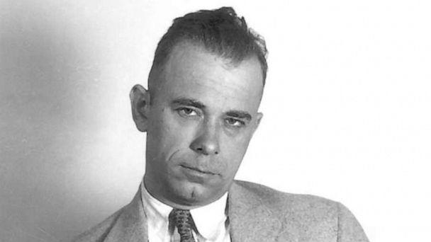PHOTO: John Dillinger is shown in this undated file photo. (Dayton Daily News/AP, FILE)