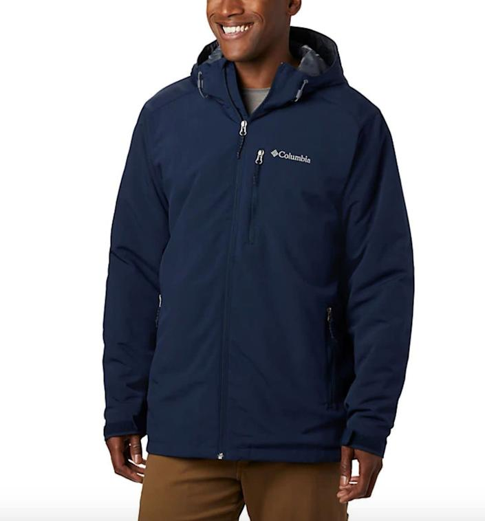 """This jacket comes in sizes LT to 4XT. <a href=""""https://fave.co/3764goT"""" rel=""""nofollow noopener"""" target=""""_blank"""" data-ylk=""""slk:Find it at Columbia"""" class=""""link rapid-noclick-resp""""><strong>Find it at Columbia</strong></a>."""