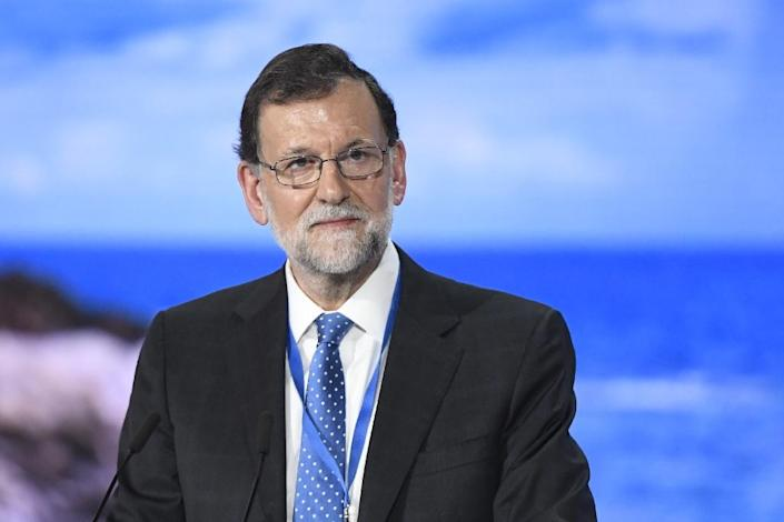 Mariano Rajoy, pictured in Madrid in February (AFP Photo/Curto de la Torre)