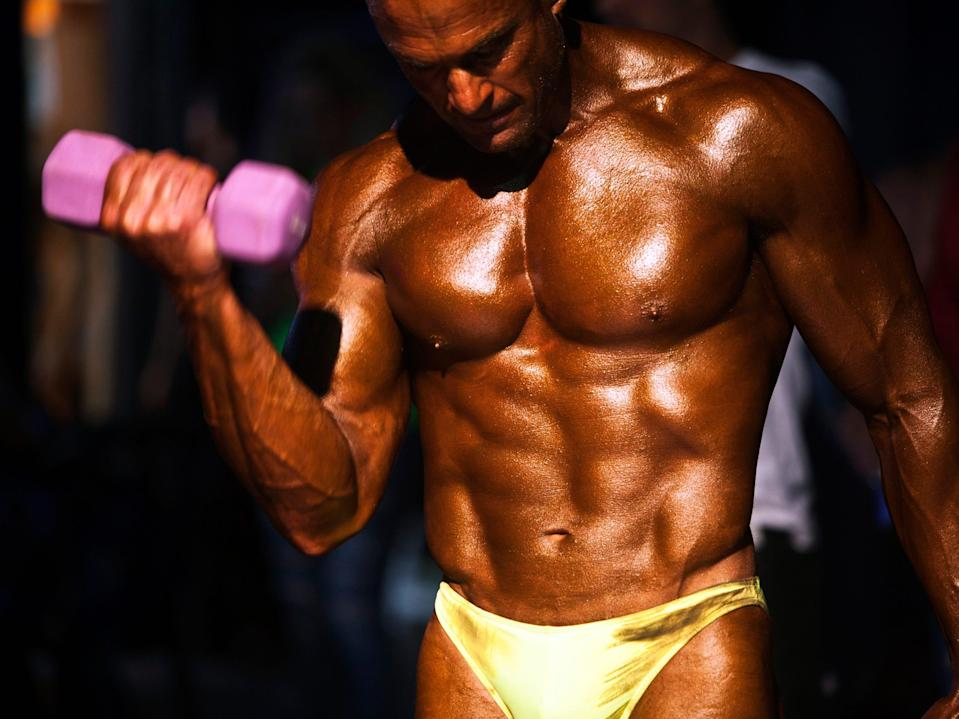 bodybuilding weight lifting abs