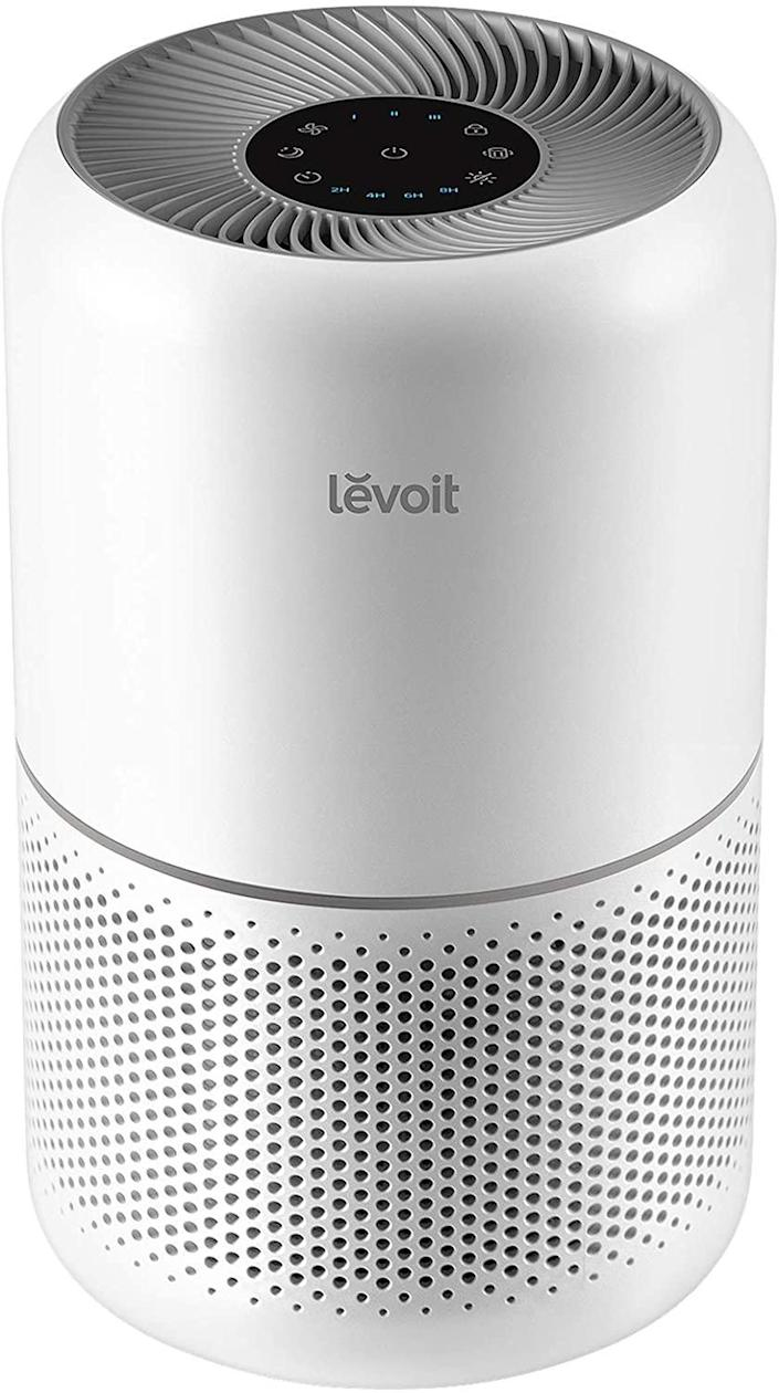 """<br><br><strong>Levoit</strong> Air Purifier for Home Allergies, $, available at <a href=""""https://amzn.to/3uRBML3"""" rel=""""nofollow noopener"""" target=""""_blank"""" data-ylk=""""slk:Amazon"""" class=""""link rapid-noclick-resp"""">Amazon</a>"""
