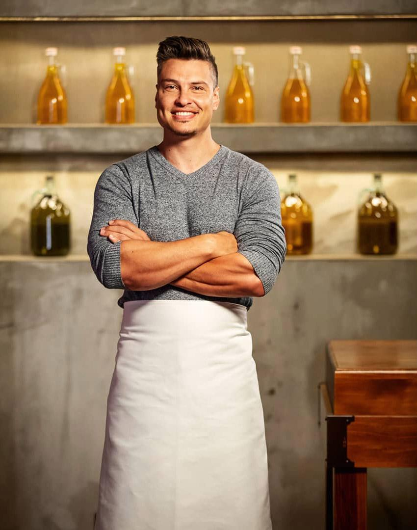 Ben appeared in MasterChef Australia: Back To Win alongside other former chefs from the show. Photo: Ten
