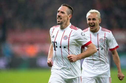 <p>Ribery strikes as Bayern go 14 points clear</p>