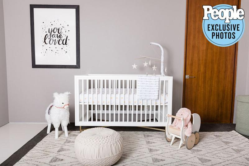 Nursery for Teddi Mellencamp Arroyave's daughter | Claire Leahy