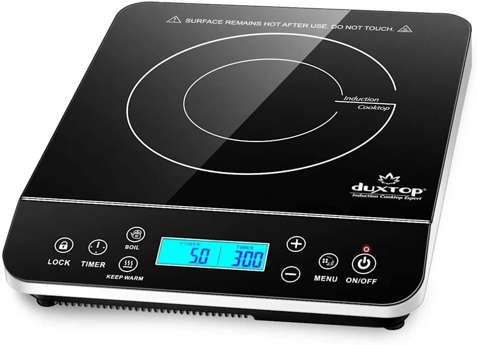 <p><span>Duxtop Portable Induction Cooktop</span> ($69, originally $118)</p>