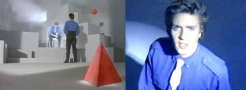 "Stills from 1983's ""Is There Something I Should Know"" music video. (Photos: EMI)"