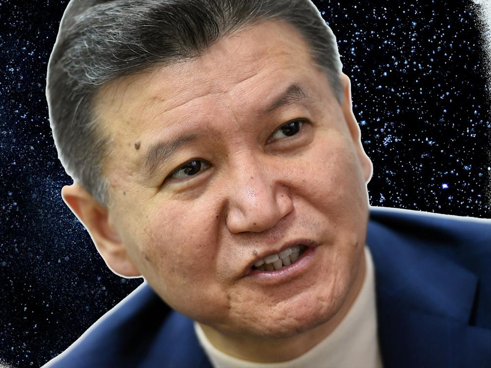 Ilyumzhinov has claimed that he was abducted by aliens in 1997: Getty