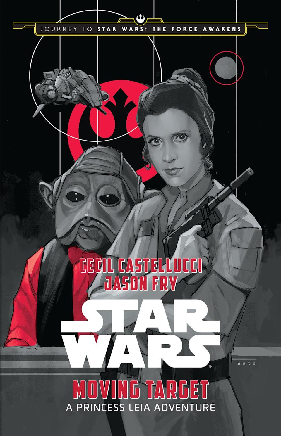 <p>'Moving Target' is a new, illustrated book for kids that's set between 'The Empire Strikes Back' and 'Return of the Jedi.' It follows Princess Leia as she leads a ragtag group of rebels on a treacherous decoy mission against the evil Galactic Empire.</p>
