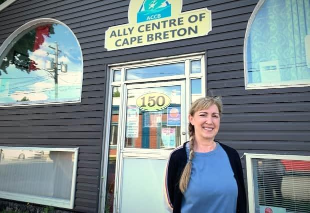Sharon MacKenzie is the outreach street health nurse at the Ally Centre. (Brittany Wentzell/CBC - image credit)