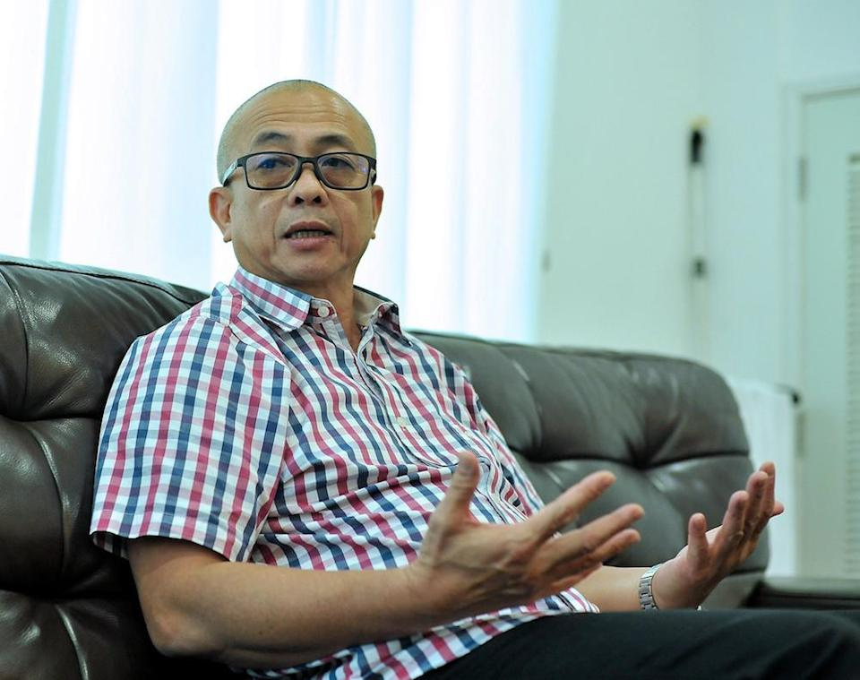 The Parti Warisan Sabah lawmaker said that he was ready to fight the charge that he claimed was meant to tarnish his reputation before the next general election. — Bernama pic