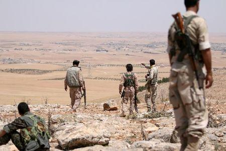 Syrian rebels back by Turkey capture Kurdish enclave