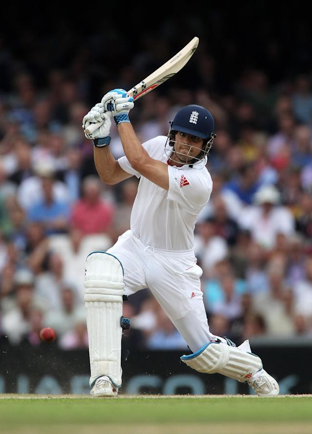 <p>Luckily, as he has throughout his career, Cook stepped up to the mark and made 110 in the third Test. If he hadn't, many think he'd have been left out of the Ashes tour. (Getty Images) </p>